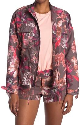 Maaji Conquest Floral Amaranth Jacket