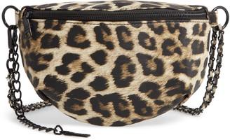 Steve Madden Animal Print Convertible Belt Bag