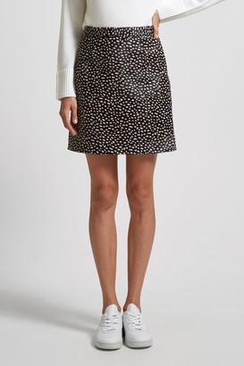 SABA Lexi Leather Mini Skirt