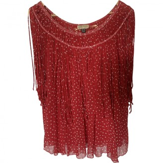 Issa Red Silk Top for Women