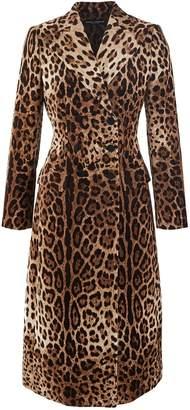 Dolce & Gabbana Leopard coat