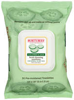 Burt's Bees Cucumber Sage Facial Cleansing Towelettes