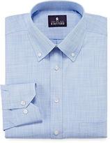 STAFFORD Stafford Long-Sleeve Broadcloth Linen Look Dress Shirt - Big & Tall