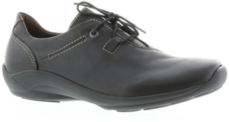 Wolky Lace-Up Leather Oxfords - Rosa