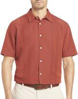 Van Heusen Short-Sleeve Button-Front Shirt