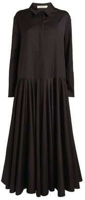 The Row Rey Maxi Shirt Dress