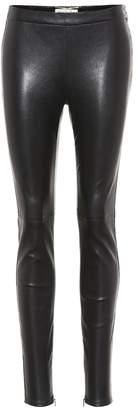 Saint Laurent Leather trousers