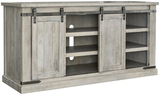 Signature Design by Ashley Carynhurst Casual Large TV Stand Whitewash - n/a