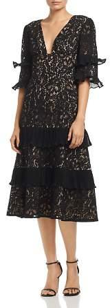 Keepsake Timeless Lace Midi Dress