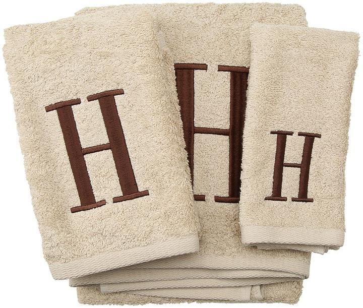 Avanti Premier Monogram Towel Set - Letter H