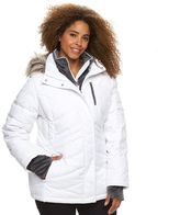 Free Country Plus Size Faux-Fur Down Jacket