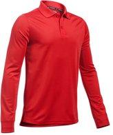 Under Armour Boys' UA Uniform Long Sleeve Polo