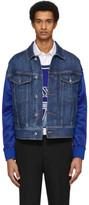 Neil Barrett Indigo Denim Techno Jacket