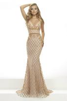 Janique - Divine Beaded Sweetheart Long Mermaid Gown JA2101
