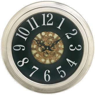 Willow Row Metal Wall Clock