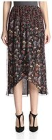 Anna Sui Women's Dreamy Floral Print Skirt