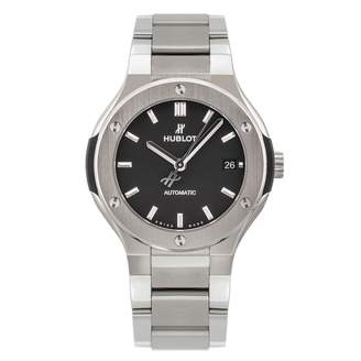 Hublot Classic Fusion Silver Titanium Watches