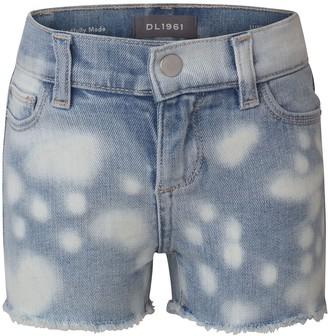 DL1961 Bleach Out Cutoff Denim Shorts