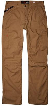 Ariat FR M5 Slim Duralight Stretch Canvas Straight Leg Pants (Field Khaki) Men's Clothing