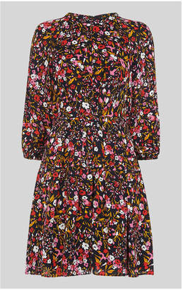 Whistles Floral Meadow Flippy Dress