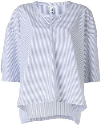 Comme des Garçons Comme des Garçons Striped Boxy Fit Shirt