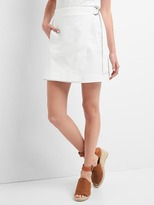 Gap Wrap utility mini skirt
