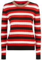 SET Striped Sweater