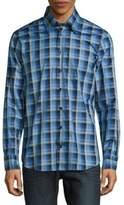 Robert Talbott Casual Checked Cotton Sportshirt