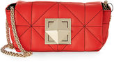 Sonia Rykiel Red Quilted Leather Mini Bag