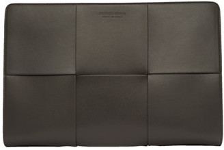 Bottega Veneta Grey Urban Document Case