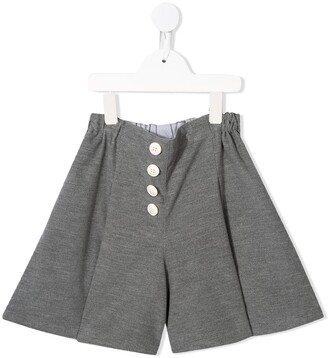 Familiar Jersey Wide Leg Shorts