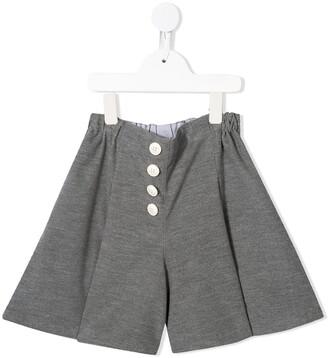 Familiar Jersey Wide Leg Shorts