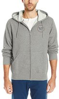 Brixton Men's Wheeler Zip Hood Fleece