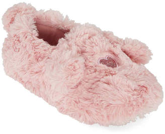 MIXIT Mixit Mommy and Me Cozy Child Furry Slippers