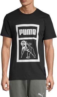 Puma Logo Graphic Cotton Tee