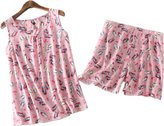 Amoy madrola Women Cotton Sleepwear / Short Sets / Pajamas Set SY214-M