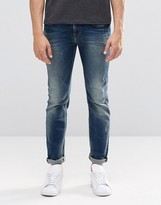 Pepe Jeans Pepe Kingston Straight Jeans N56 Mid Wash