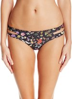 L-Space LSpace Women's Estella Liberty Love Bikini Bottom