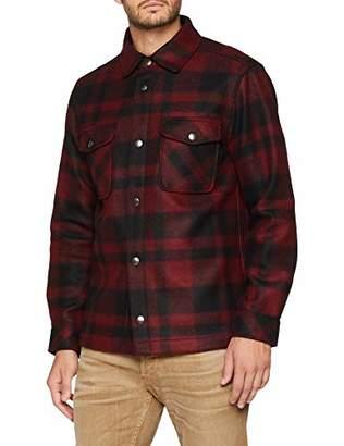 Benetton Men's Jacket, Black 901, (Size: 40)