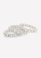 Bebe Glam Stretch Bracelet Set