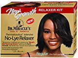 Dr. Miracle's New Growth Intensive No-Lye Relaxer Kit Regular, 1 ea (Pack of 6)