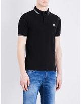 Stone Island Slim-fit Cotton-piqué Polo Shirt