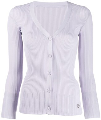 Emilio Pucci ribbed button-up cardigan