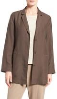 Eileen Fisher Women's Tencel & Linen One-Button Jacket