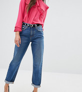 Asos Original Mom Jeans in Baillie Rich Blue Wash
