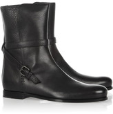 Bottega Veneta Textured-leather ankle boots