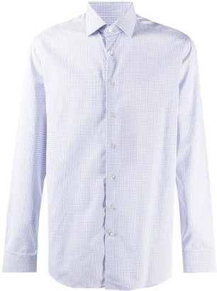 Etro Checked Button-Up Shirt