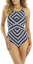 Sunseeker Arrow Highneck Halter One Piece