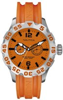 Nautica A16606G 46mm Stainless Steel Case Resin mineral Women's Watch