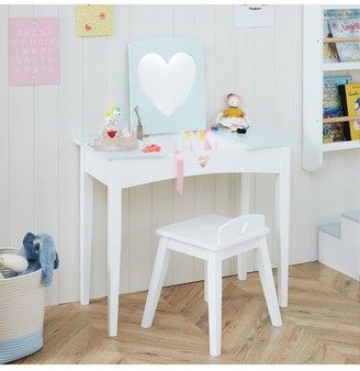 Great Little Trading Co Sweetheart Dressing Table and Stool Set